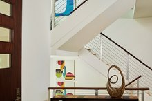 Home Plan - Contemporary Interior - Entry Plan #928-315