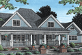 Farmhouse Style House Plan - 4 Beds 3.5 Baths 2546 Sq/Ft Plan #20-342 Exterior - Front Elevation