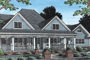Farmhouse Exterior - Front Elevation Plan #20-342
