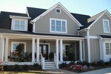 Dream House Plan - Farmhouse Exterior - Front Elevation Plan #927-41