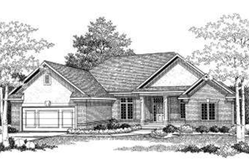 Traditional Exterior - Front Elevation Plan #70-779