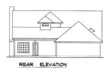 Farmhouse Exterior - Rear Elevation Plan #40-163