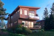Modern Style House Plan - 3 Beds 3.5 Baths 2647 Sq/Ft Plan #1066-106