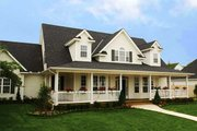 Country Style House Plan - 4 Beds 3 Baths 2693 Sq/Ft Plan #929-699 Exterior - Front Elevation