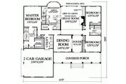 Country Style House Plan - 3 Beds 2 Baths 2151 Sq/Ft Plan #137-188 Floor Plan - Main Floor Plan