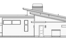 Modern Exterior - Rear Elevation Plan #895-101
