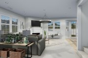 Craftsman Style House Plan - 3 Beds 2.5 Baths 2438 Sq/Ft Plan #1060-65 Interior - Family Room