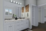 Traditional Style House Plan - 4 Beds 3.5 Baths 5212 Sq/Ft Plan #1060-69 Interior - Master Bathroom