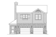 House Plan Design - Country Exterior - Front Elevation Plan #22-611