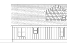 Country Exterior - Rear Elevation Plan #932-39
