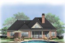 House Plan Design - European Exterior - Rear Elevation Plan #929-692