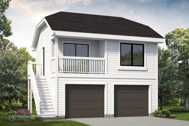 House Plan Design - Exterior - Front Elevation Plan #47-1075