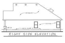 Architectural House Design - Victorian Exterior - Other Elevation Plan #20-2225