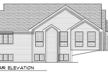 Traditional Exterior - Rear Elevation Plan #70-771