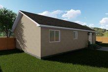 Ranch Exterior - Rear Elevation Plan #1060-3