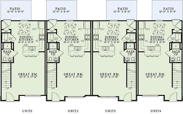 Traditional Floor Plan - Main Floor Plan Plan #17-2466