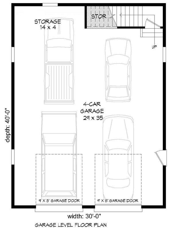 Country Floor Plan - Main Floor Plan Plan #932-132