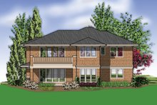 Home Plan - Prairie Exterior - Rear Elevation Plan #48-623