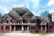 Dream House Plan - European Exterior - Front Elevation Plan #119-240
