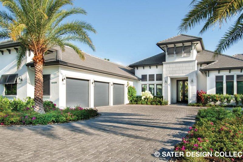 House Plan Design - Contemporary Exterior - Front Elevation Plan #930-477