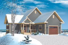 House Design - Cottage Exterior - Front Elevation Plan #23-2318