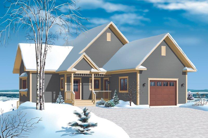 Home Plan - Cottage Exterior - Front Elevation Plan #23-2318