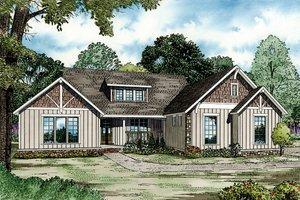 Farmhouse Exterior - Front Elevation Plan #17-2311