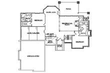 Traditional Floor Plan - Lower Floor Plan Plan #5-302