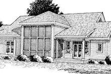 Home Plan - Farmhouse Exterior - Other Elevation Plan #20-167