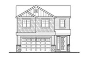 Country Style House Plan - 4 Beds 2.5 Baths 1708 Sq/Ft Plan #569-32 Exterior - Front Elevation
