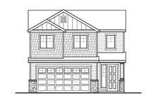 Home Plan - Country Exterior - Front Elevation Plan #569-32