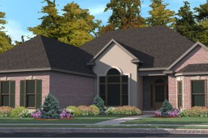Traditional Exterior - Front Elevation Plan #63-353