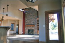 Dream House Plan - Craftsman style, kitchen photo