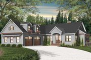 Farmhouse Style House Plan - 4 Beds 2.5 Baths 3249 Sq/Ft Plan #23-2689 Exterior - Front Elevation