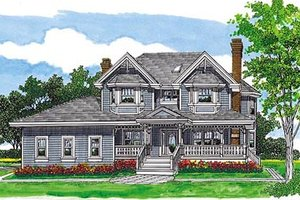 Traditional Exterior - Front Elevation Plan #47-426