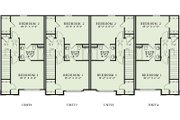 Traditional Style House Plan - 2 Beds 2 Baths 4212 Sq/Ft Plan #17-2466