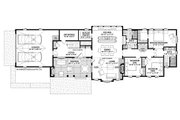 Contemporary Style House Plan - 3 Beds 2 Baths 2491 Sq/Ft Plan #928-326 Floor Plan - Main Floor