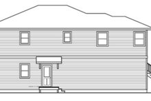 Dream House Plan - Contemporary Exterior - Other Elevation Plan #124-757
