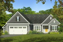 Home Plan - Ranch Exterior - Front Elevation Plan #1010-237