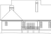 House Design - European Exterior - Rear Elevation Plan #119-266