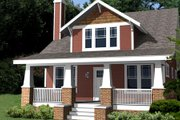 Craftsman Style House Plan - 4 Beds 3 Baths 2116 Sq/Ft Plan #461-3