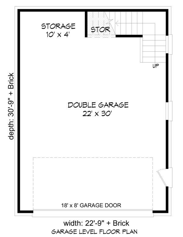 Country Floor Plan - Main Floor Plan Plan #932-283