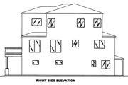 Mediterranean Style House Plan - 2 Beds 3 Baths 2138 Sq/Ft Plan #117-884
