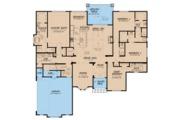 European Style House Plan - 4 Beds 3.5 Baths 2538 Sq/Ft Plan #923-60 Floor Plan - Main Floor Plan