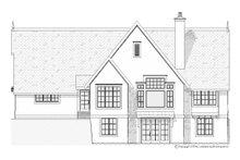 House Plan Design - European Exterior - Rear Elevation Plan #901-93
