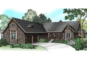 Ranch Style House Plan - 4 Beds 2.5 Baths 3072 Sq/Ft Plan #124-383