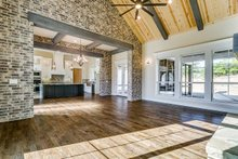 Dream House Plan - Southern Interior - Family Room Plan #1074-8