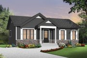 Ranch Style House Plan - 2 Beds 1 Baths 864 Sq/Ft Plan #23-2663