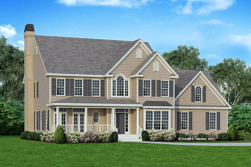 Home Plan - Victorian Exterior - Front Elevation Plan #929-239