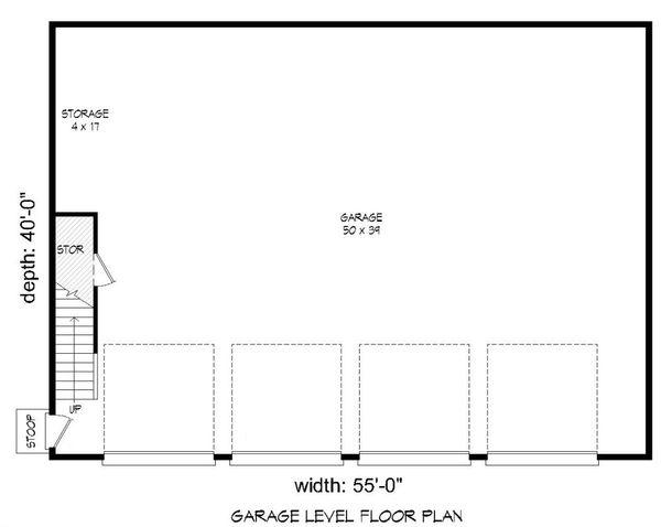 Country Floor Plan - Main Floor Plan Plan #932-124